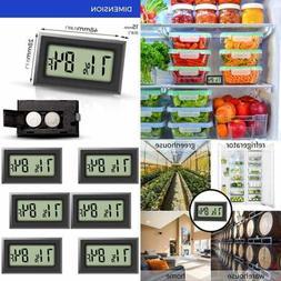 Refrigerator Fridge Freezer Thermometer Hygrometer Room Mini