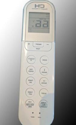 Remote Control For Cooper&Hunter Mini-Split Air Conditioners