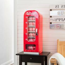 Retro Coca Cola 10-Can Vending Machine / Fridge