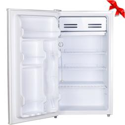 Smad 3.3 Cuft Single Door Mini Fridge Small Compact Freezer