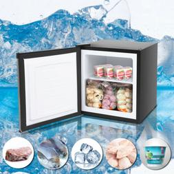 Compact Refrigerator, 1.1 Cu Ft Mini Fridge with Freezer, En