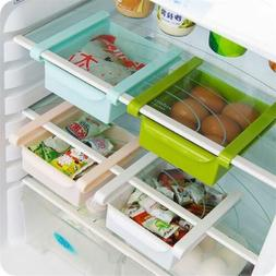 Space Saver Freezer Storage Fridge Kitchen Rack Organizer Sl