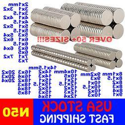 Super Strong N50 Round Disc Neodymium Mini Fridge Magnets Ra