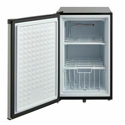 Smad Upright Freezer, 3.0 Cubic Feet, Stainless Steel E-star