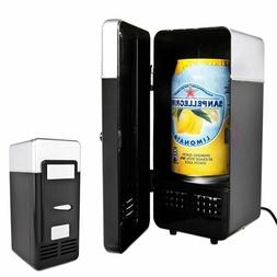 Usb Desktop 2 In 1 Mini Fridge Gadget Beverage Warmer Refrig