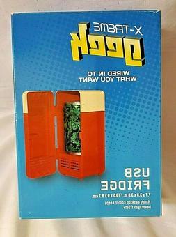 USB Mini Fridge Cooler Drink One Can Cooling Fridge Cooler N