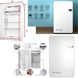 White Retro Refrigerator With Freezer Small Refrigerators Co